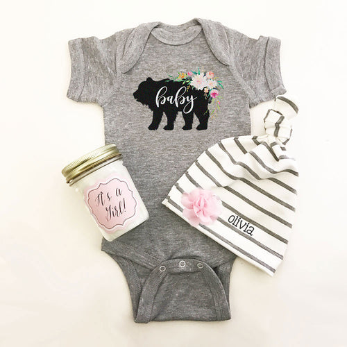 Rustic Baby Shower Bodysuit | FREE SHIPPING | CODE SHIPFREE
