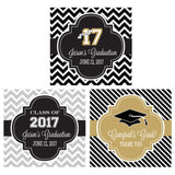 Graduation Hershey Kisses Stickers  - Hershey's Candy Stickers - Printed & Shipped