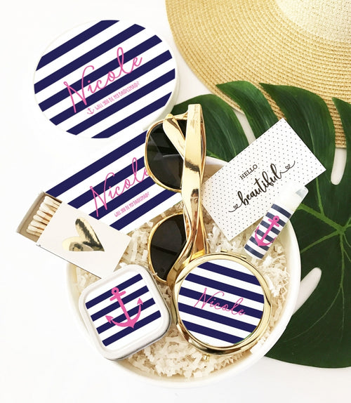 Anchor Nautical Beach Gift Box Set