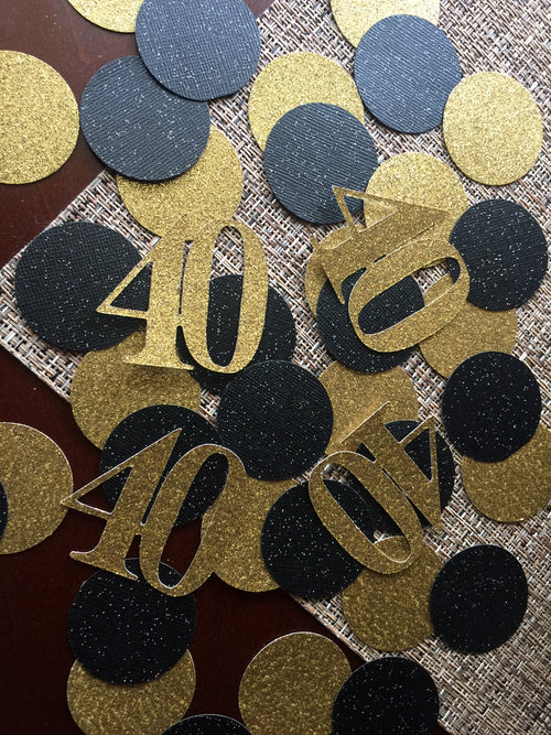 "Ready to Ship. ""40"" Confetti Table Decoration (50ct each)"