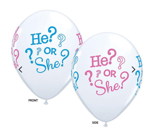 Gender Reveal Baby Shower Hershey Kisses Stickers (set of 216)