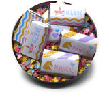 Personalize Unicorn Theme Stickers - Hershey's® Kisses Stickers - Printed/Shipped (set of 216) Free Shipping Use Code SHIPFREE
