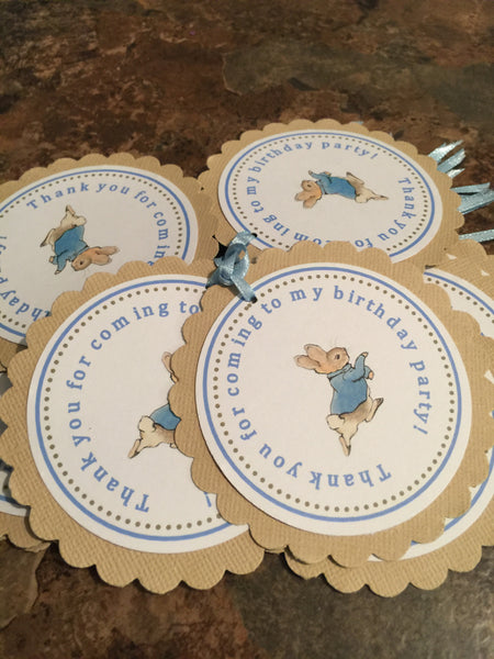 Peter Rabbit Birthday or Baby Shower Hershey's Kisses Stickers - Printed & Shipped (36 Stickers)  -Free Shipping Use Code SHIPFREE