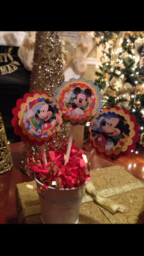 Disney Inspired Clubhouse Napkin Rings (12)