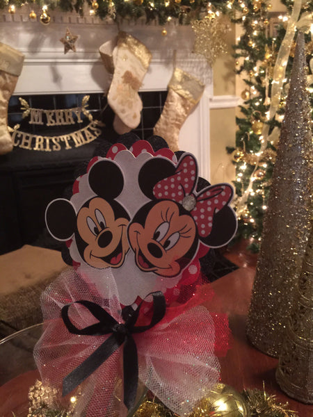 Disney Inspired Mickey & Minnie Clubhouse Banner