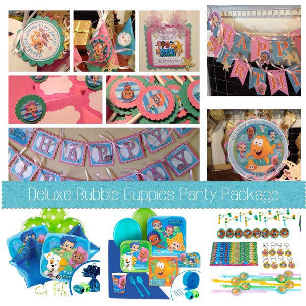 Bubble Guppies Complete Party Package