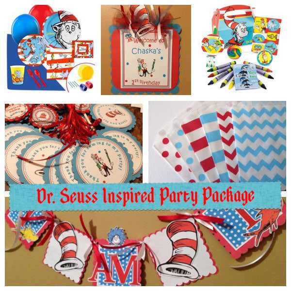 Dr. Seuss Complete Party Package