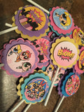 Free Shipping....PowerPuff Girls Superhero Party Decorations (CODE SHIPFREE)