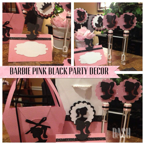 Barbie Inspired Centerpiece
