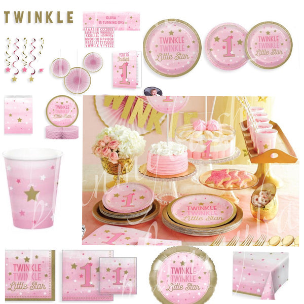Free Shipping! Twinkle Twinkle Birthday Banner USE CODE SHIPFREE)