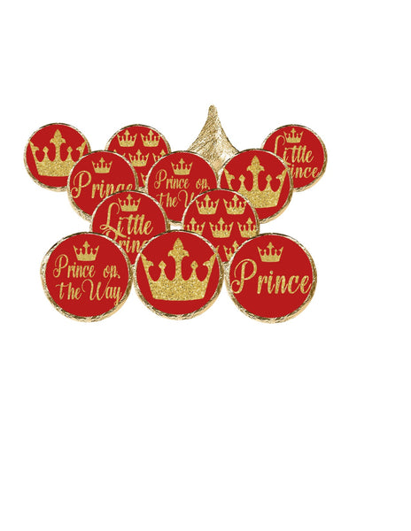 Little Prince Theme Candy Stickers - Stickers for Hershey Kisses - (set of 210) | Printed & Shipped