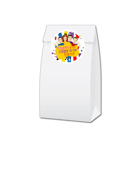 Inspired Wiggles Hershey's Kiss Stickers - Candy Stickers - Peel & Stick Stickers - 210 Stickers