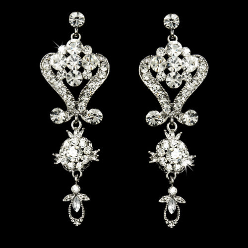 Stunning Crystal Chandelier Earrings
