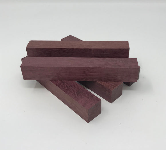 Purpleheart 5 - Pack Pen Blank (Authentic Sam Maloof Lumber)