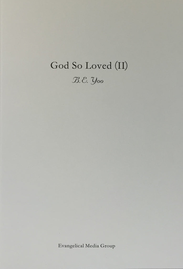 God So Loved (II)