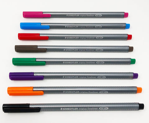 0.3mm Staedtler Fineliner Pen 8 Color Set