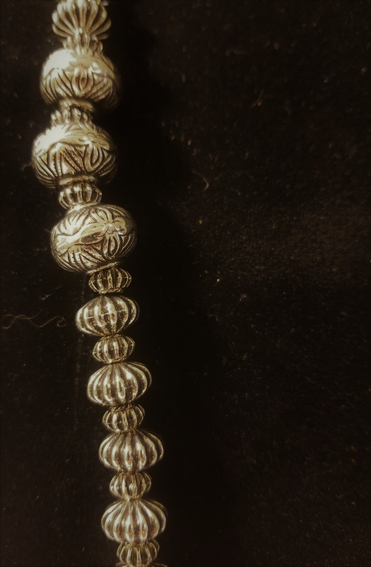 Silver Trading Bead Necklace