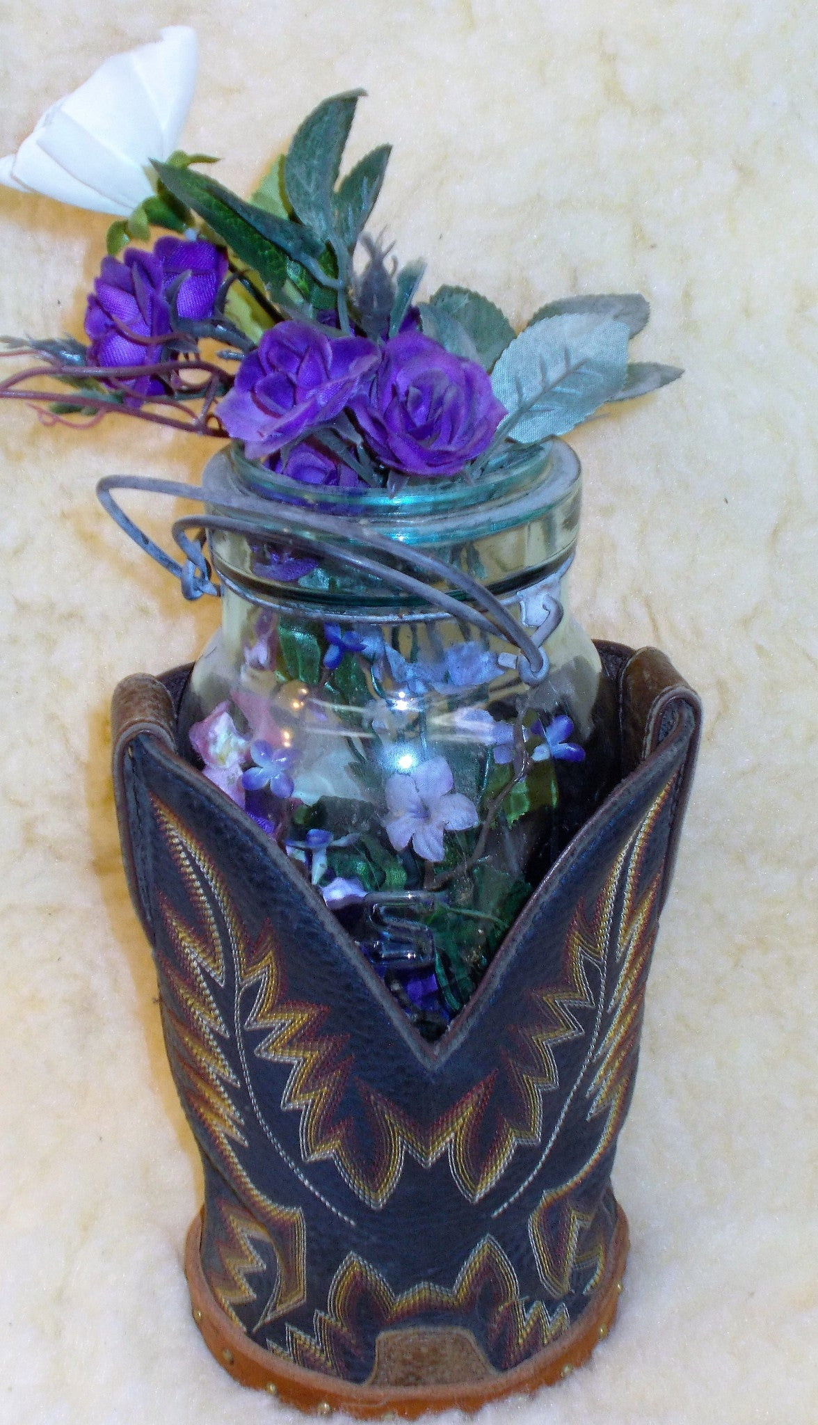Boot Top Vases