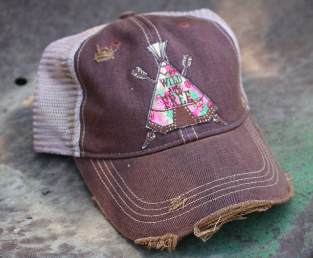 Teepee Wild and Free Cap