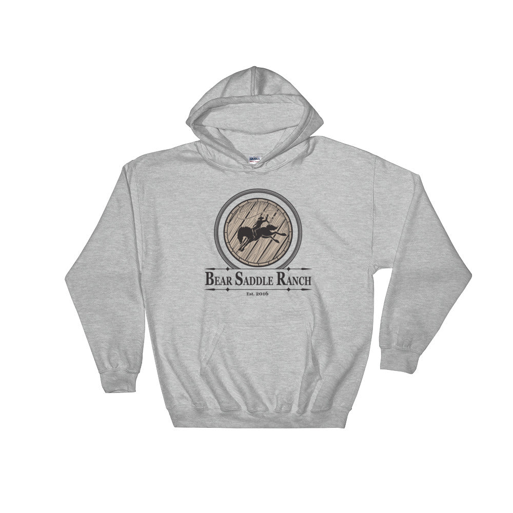 BSR Barrel & Bronc Hooded Sweatshirt