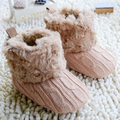 Sweater Knit Fleece Boot