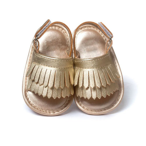 Fancy Fringe Sandals