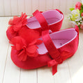 Flower Bow Mary Janes