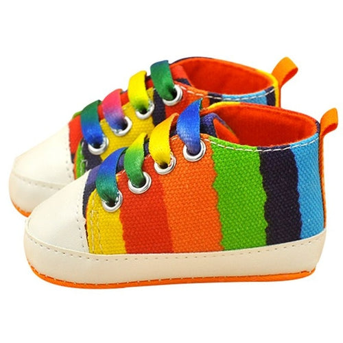 Colorful Canvas Sneakers