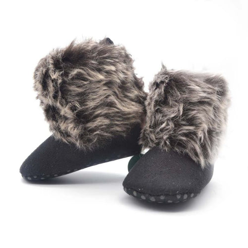 Fleece Snow Boots