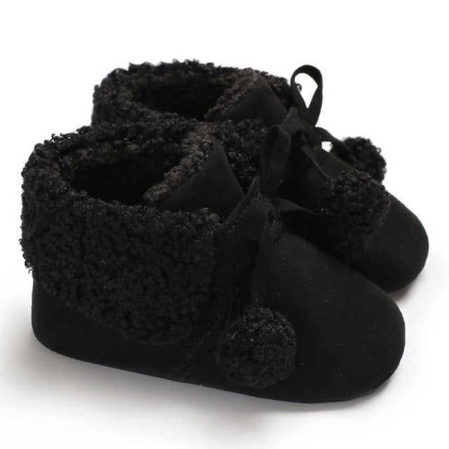 Fuzzy Booties