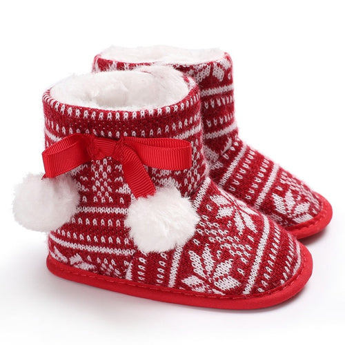 Snowflake Winter Boots