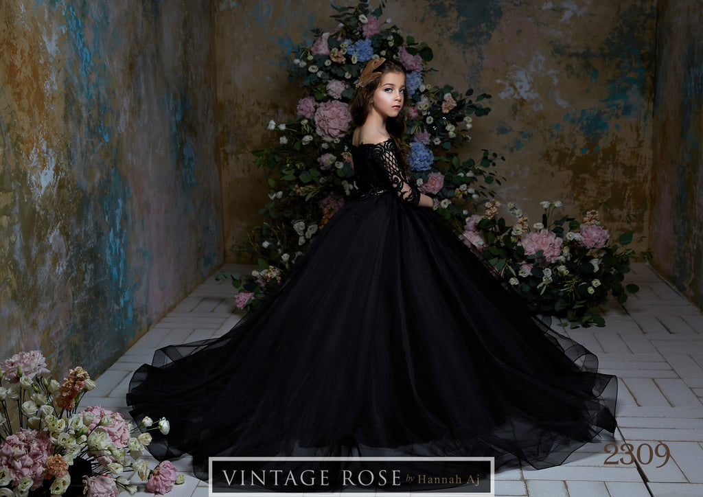 Midnight Love Gown