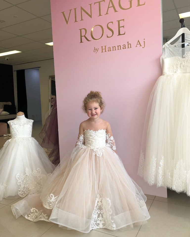 Chloe Flower Girl Gown