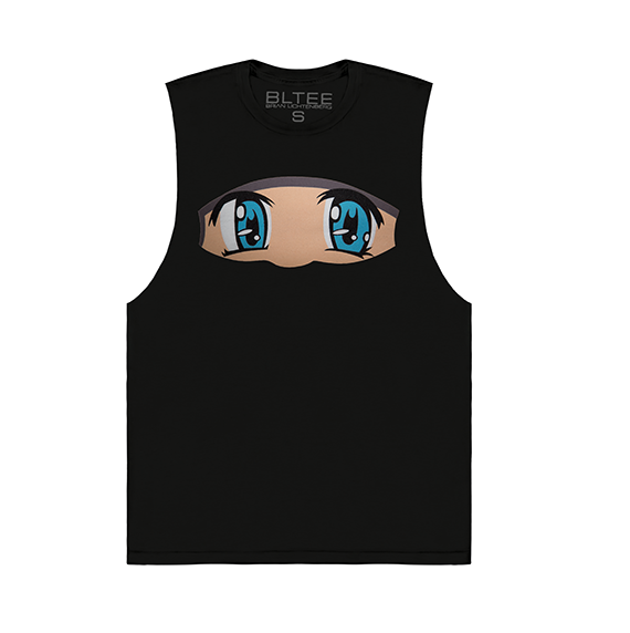 ANIME EYES MUSCLE TEE