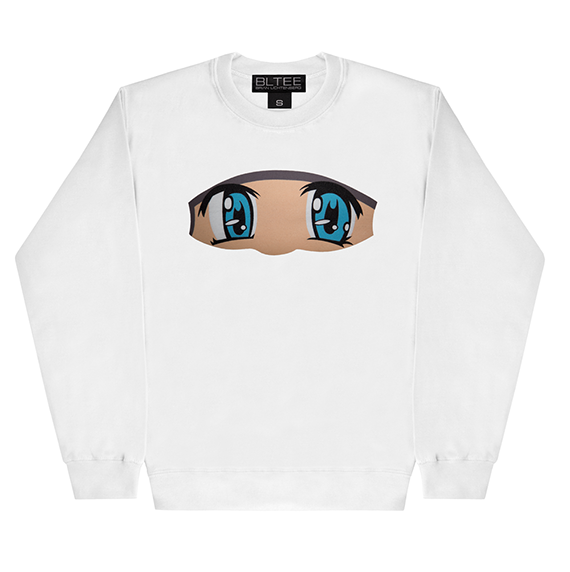 ANIME EYES SWEATSHIRT