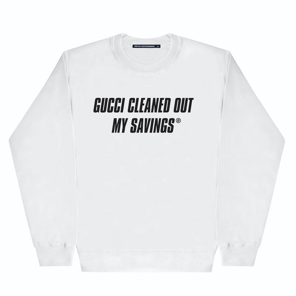 CLEANED OUT SWEATSHIRT