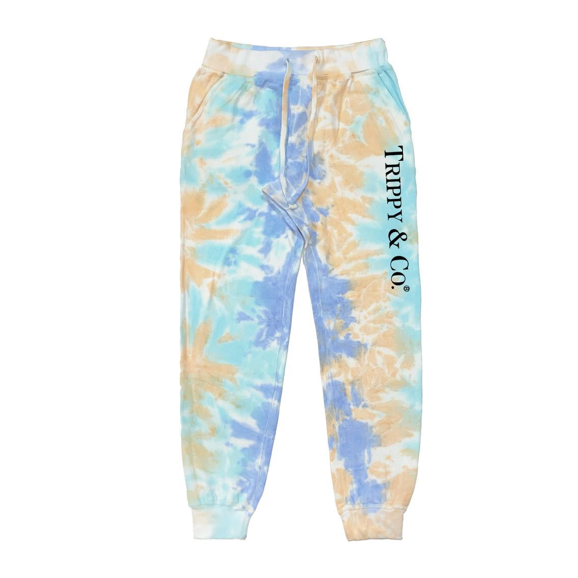 TRIPPY & CO TIE-DYE SWEATPANTS