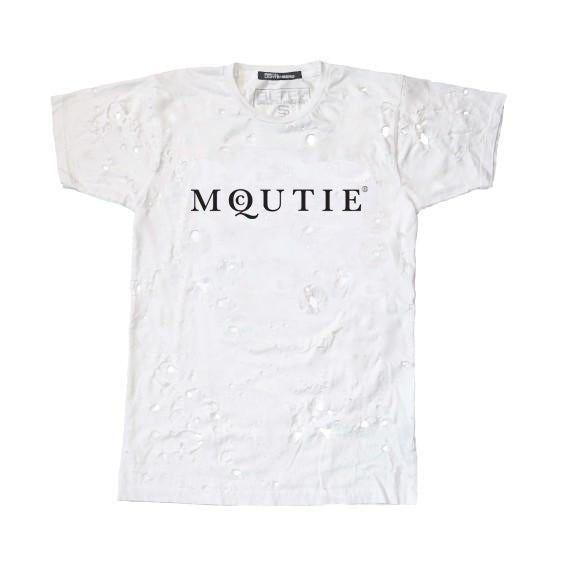 MQCUTIE DESTROYED TEE