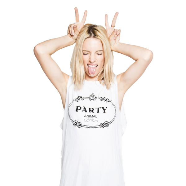PARTY ANIMAL MUSCLE TEE