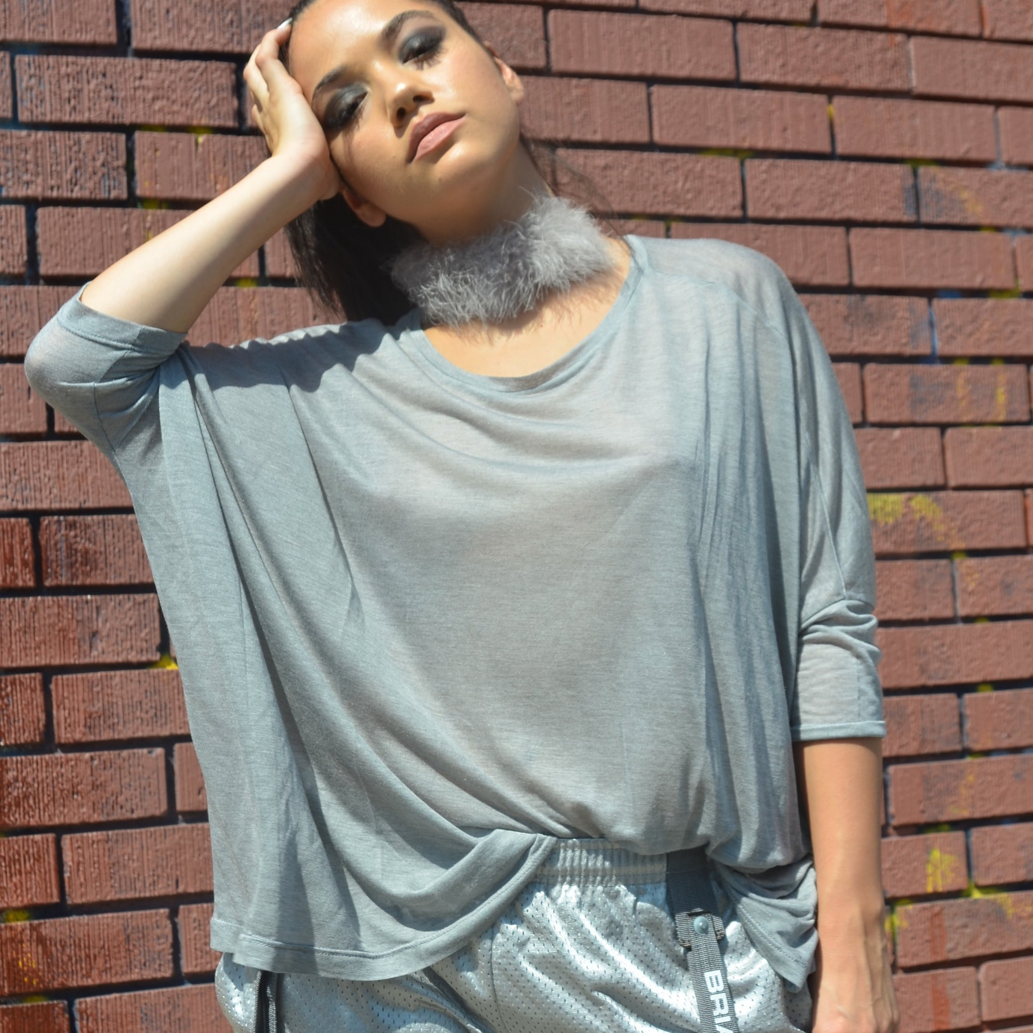 GREY GHOST TOP