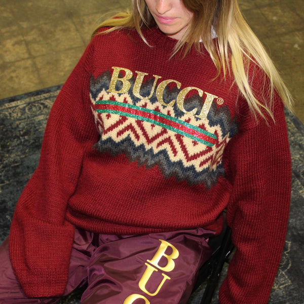 VINTAGE BUCCI KNIT SWEATER