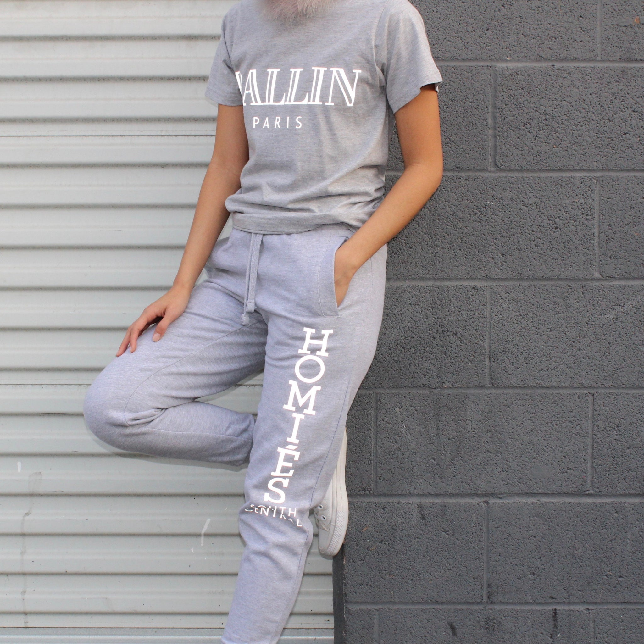 HOMIÉS REFLECTIVE SWEATPANTS