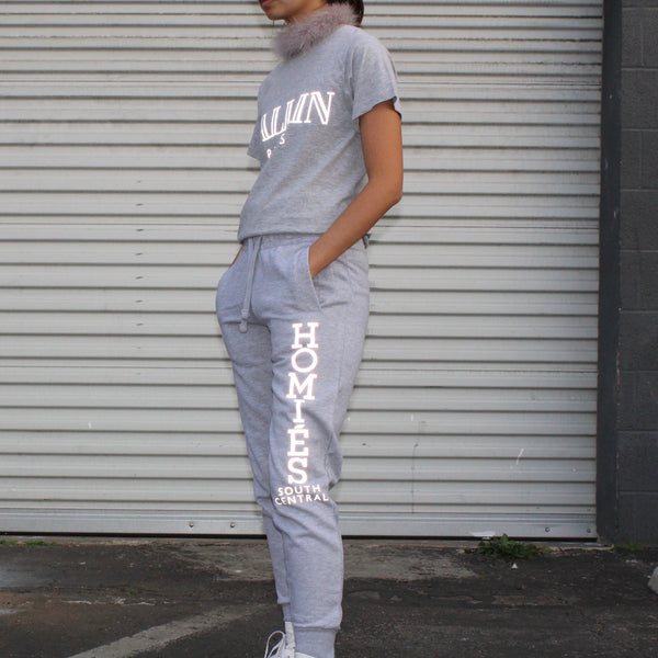 HOMIES REFLECTIVE SWEATPANTS