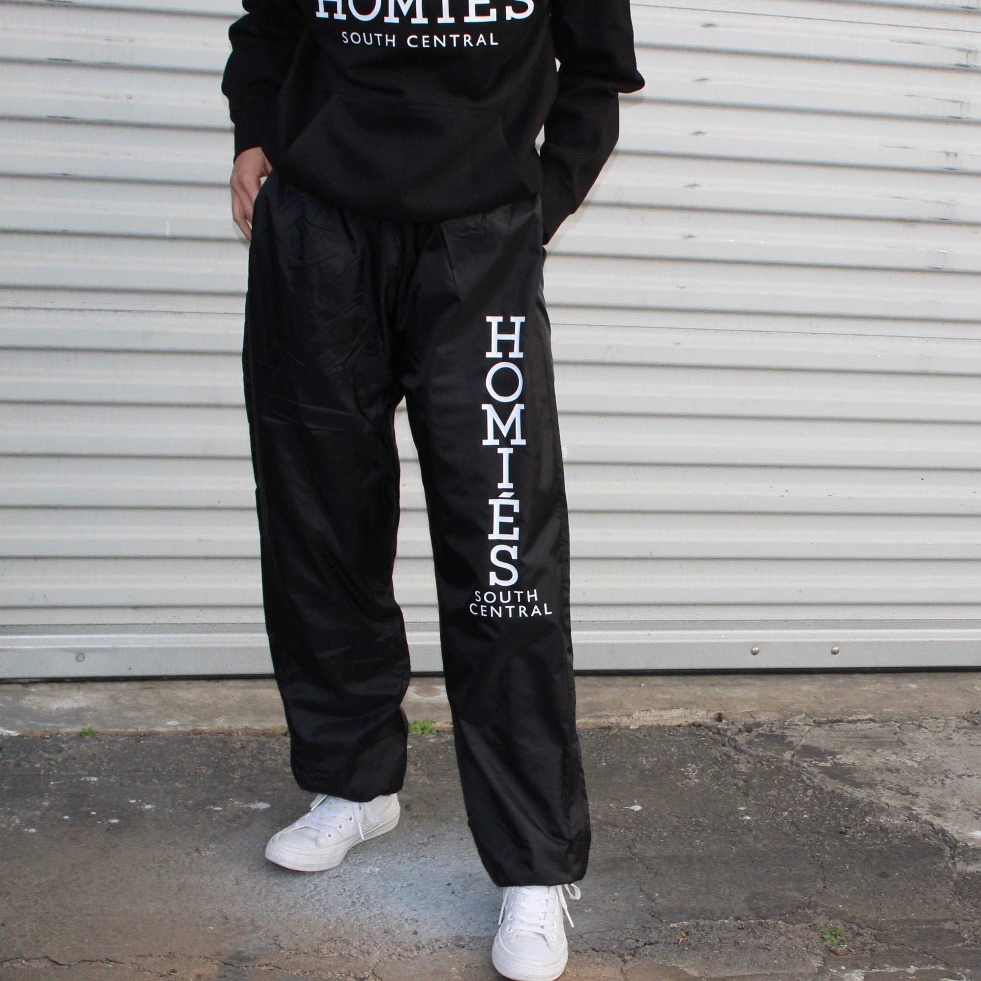 HOMIES NYLON SWEATPANTS