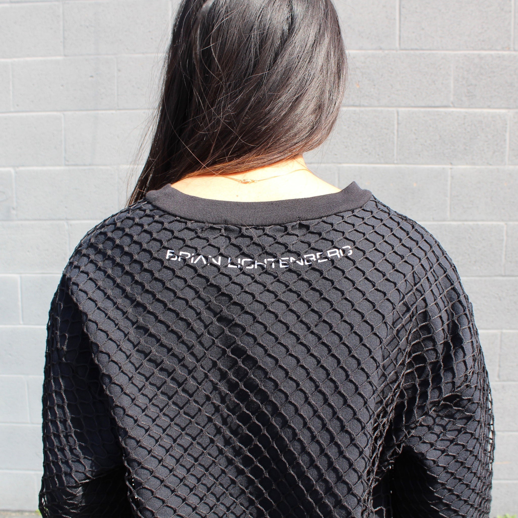 FISHNET SWEATSHIRT