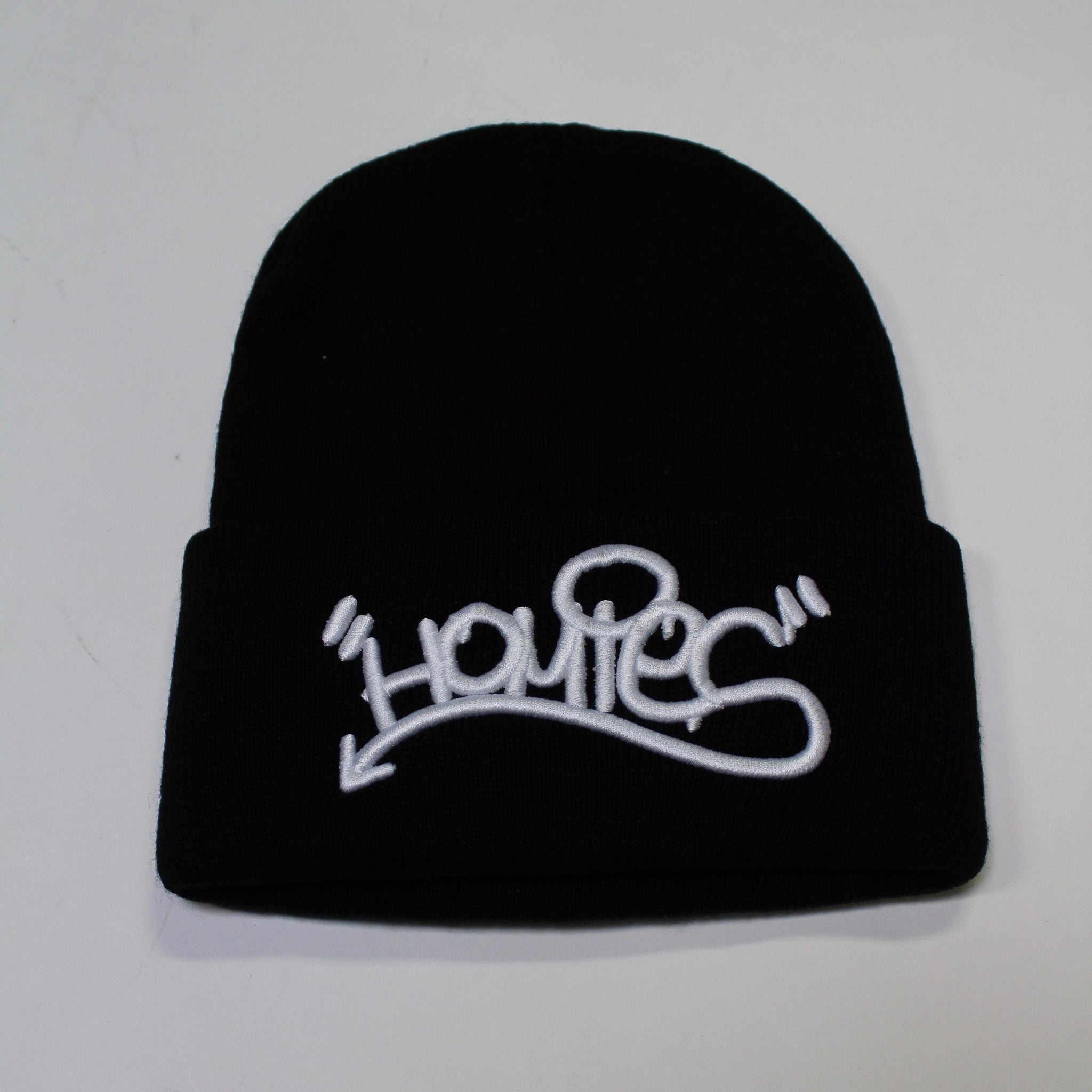 HOMIES GRAFFITI BLACK BEANIE