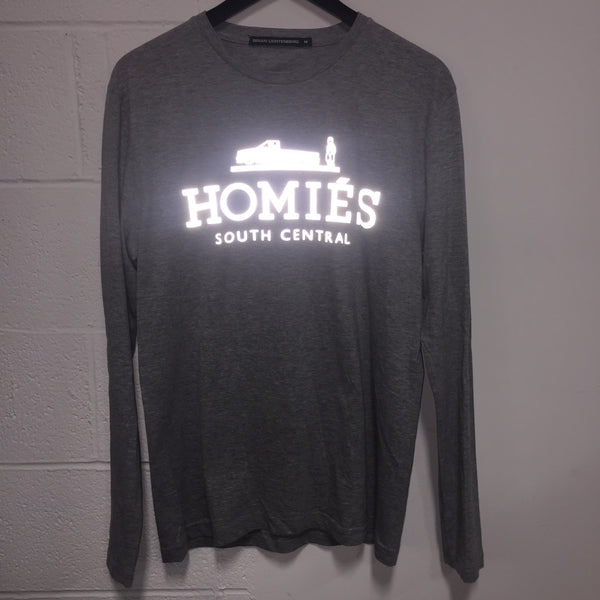 HOMIÉS SILVER REFLECTOR LONG SLEEVE TEE