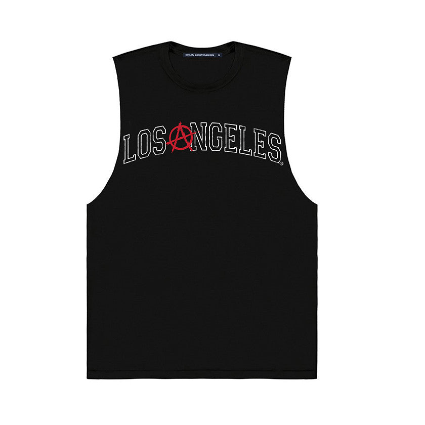 LOS ANGELES ANARCHY MUSCLE TEE