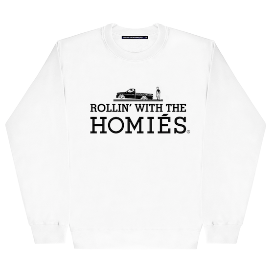 ROLLIN' WITH THE HOMIÉS SWEATSHIRT