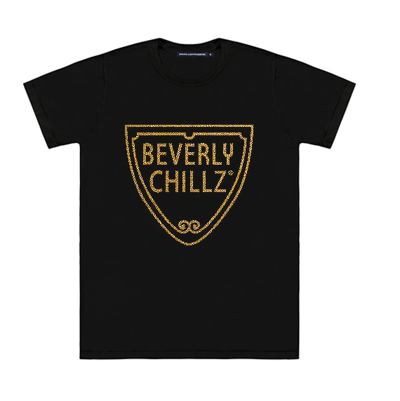 BEVERLY CHILLZ GLITTER TEE